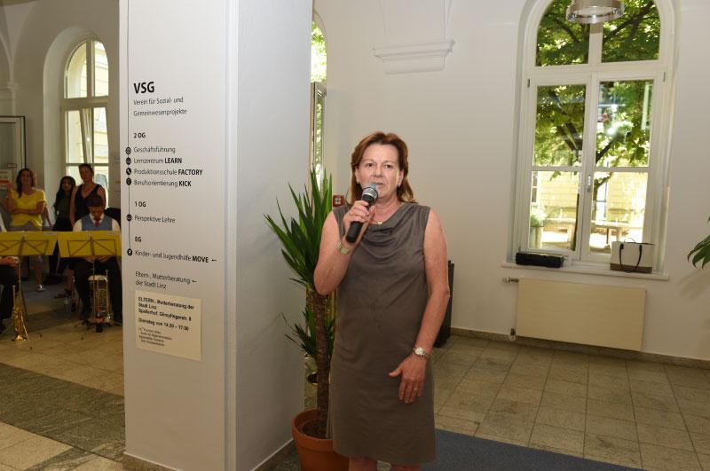 Eröffnung Karin Hörzing  ©Stadt-Linz
