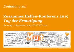 ZusammenHelfen-Konferenz 2019 @ POSTCITY Linz